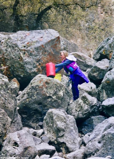 Bonnie Portages Owyhee Falls 1998