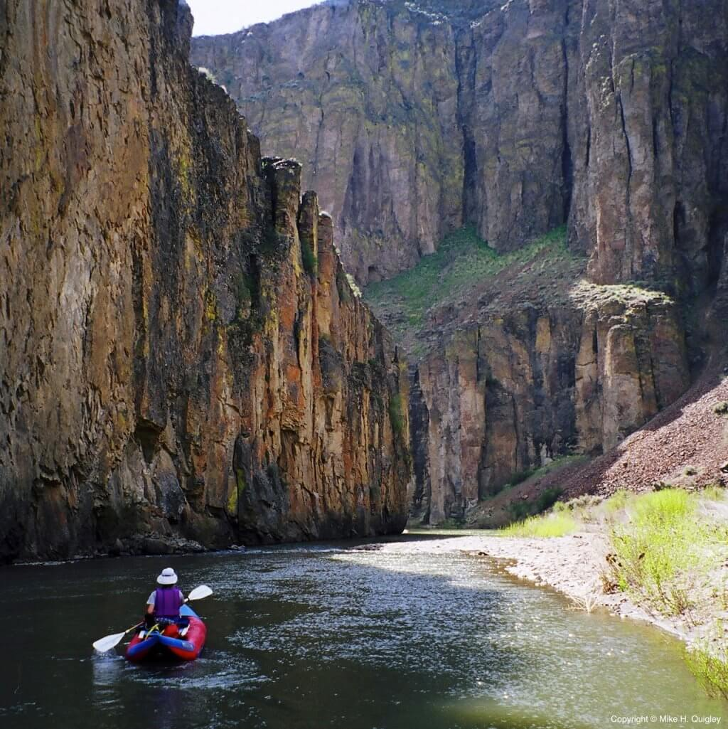 Deep Creek - A Tributary of the East Fork Owyhee River