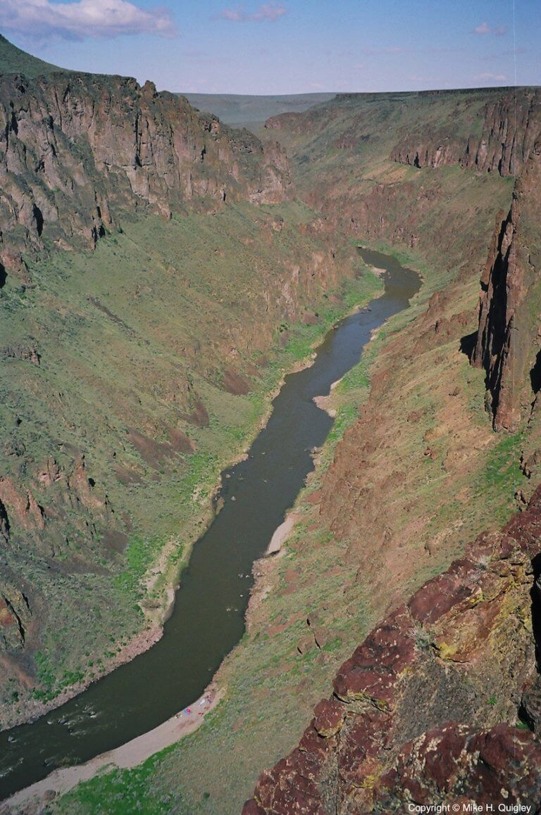Owyhee River below Cable Rapid